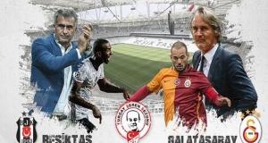 Beşiktaş, Galatasaray maçından kareler...