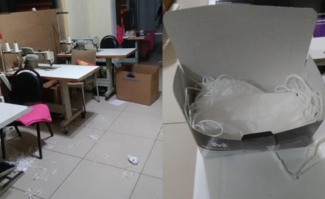 Kocaeli'de binlerce kaçak maske ele geçirildi!