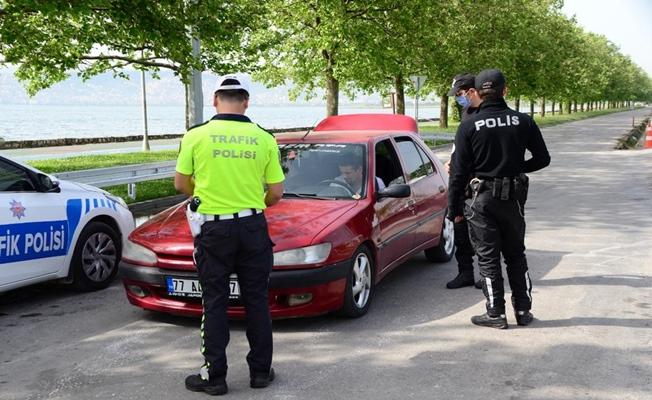 Kocaeli'de yapılan huzur uygulamasında 9 kişi yakalandı
