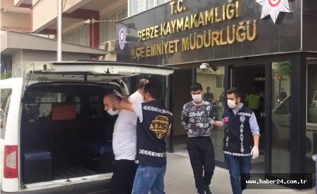 Kocaeli'de 2 kişiyi gasp eden 3 şüpheli tutuklandı