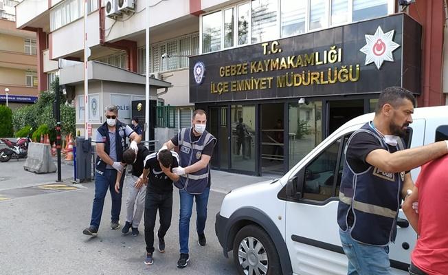 Gebze'de gasp olayına karışan 2 kişi tutuklandı!