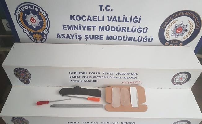 İstanbul'dan gelerek Kocaeli'de hırsızlık yapan 6 kişi yakalandı!