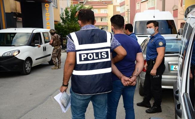 Kocaeli'de büyük operasyon:53 gözaltı