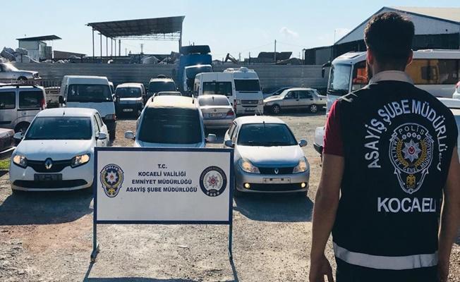 Kocaeli'de çaldıkları araçları change edip satan 2 kişi tutuklandı!