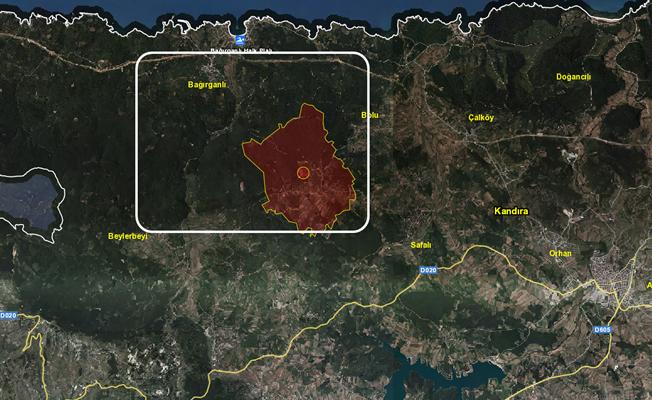 Kocaeli'de Rüzgar santrali için bazı bölgeler kamulaştırılacak!