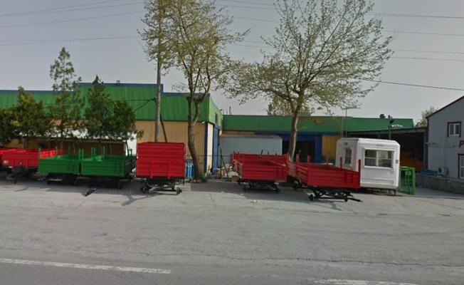 Kocaeli'de tarım aletleri üreten fabrikada yangın çıktı!