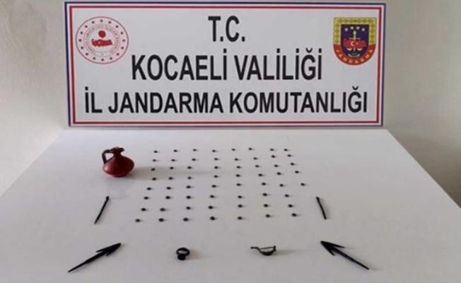 Tarihi eser kaçakçısı bir kişi Kocaeli'de yakalandı!