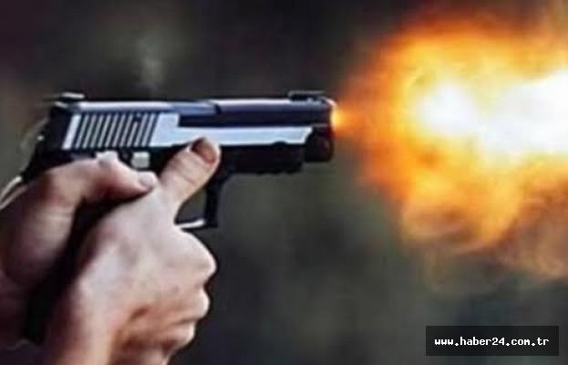 Tartışma silahlı kavgaya döndü 1 kişi başından vuruldu!