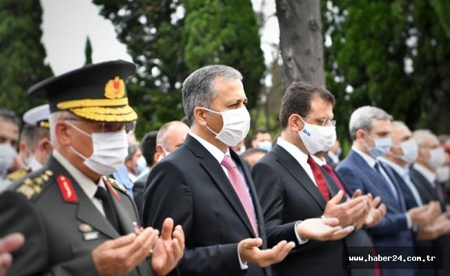 Vali Yerlikaya,  15 Temmuz Demokrasi Şehitliği'nde Düzenlenen Anma Törenine Katıldı
