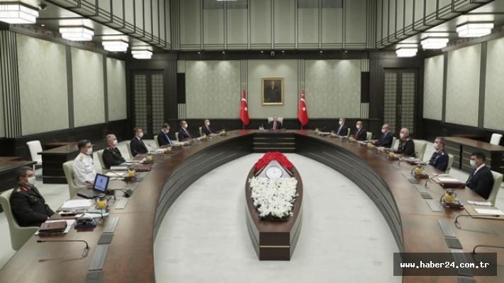 Yüksek Askerî Şûra, Cumhurbaşkanı Erdoğan başkanlığında toplandı