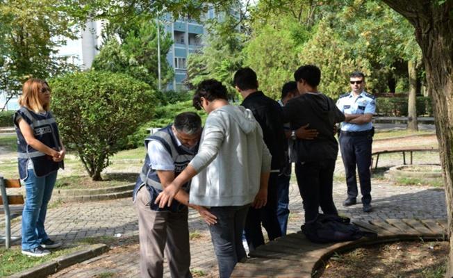 Karantinada olması gereken 35 kişi yakalandı!