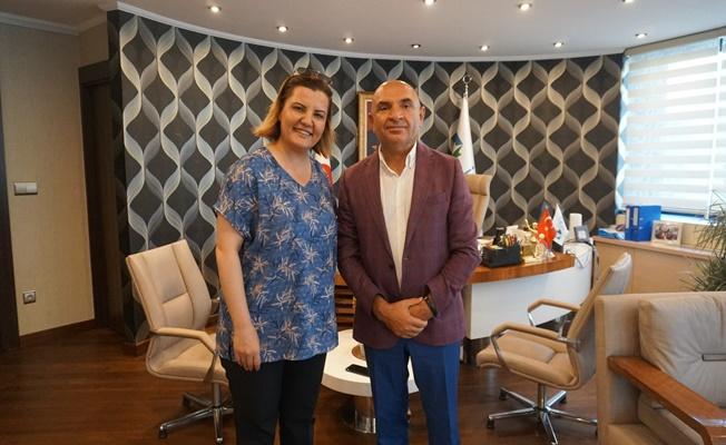 Tahsin Tarhan'dan Fatma Kaplan Hürriyet'e Ziyaret