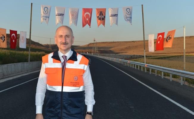 Karaismailoğlu,Diyarbakır-Eğil karayolunun açılışını yaptı