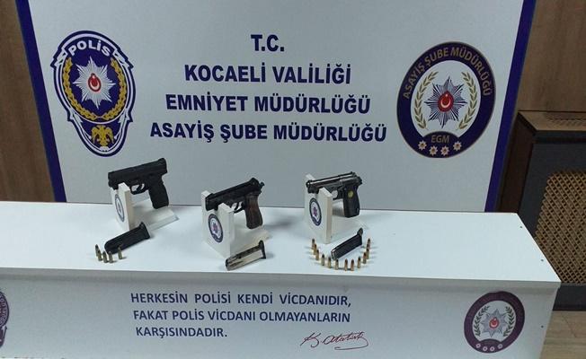 Kocaeli'de iş yeri kurşunlayan zanlılar tutuklandı!