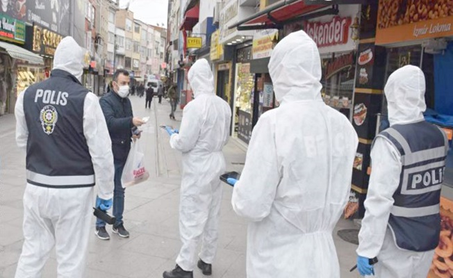 Kocaeli'de kurallara uymayan 124  kişiye ceza kesildi