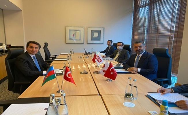 RTÜK Başkanı Şahin, Azerbaycan Cumhurbaşkanı Yardımcısı İle Görüştü