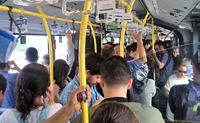 Toplu taşımada ayakta yolcu alınmayacak!