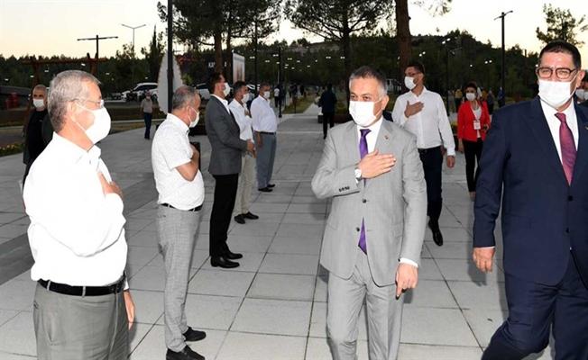 Vali Ersin Yazıcı, Batı Antalya Esnaf Odaları Başkanlarıyla Buluştu