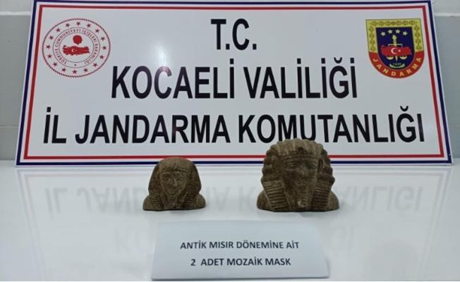 Kocaeli Jandarma Komutanlığından tarihi eser operasyonu!
