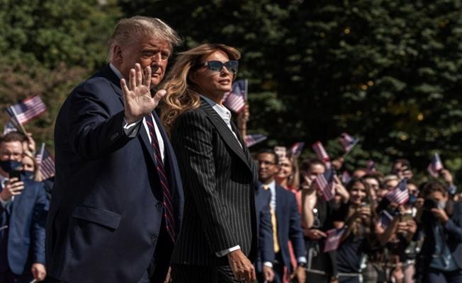 Trump ve eşi koronaya yakalandı