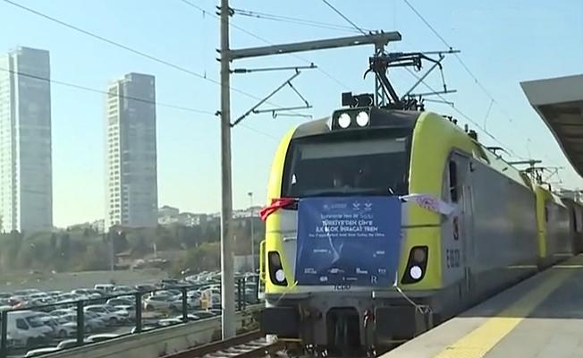 Çin'e gidecek ilk ihracat treni  İstanbul'dan yola çıktı