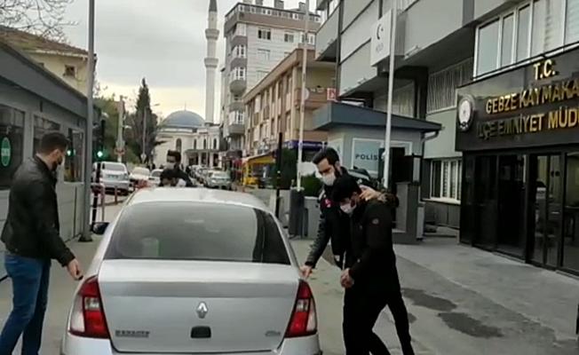 Gebze'de motosiklet çalan hırsızlar yakalandı !