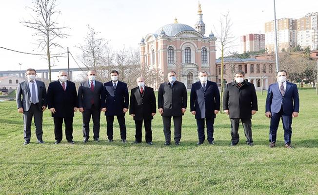 İstanbul'da Başkanlar Sadabad'da buluştu