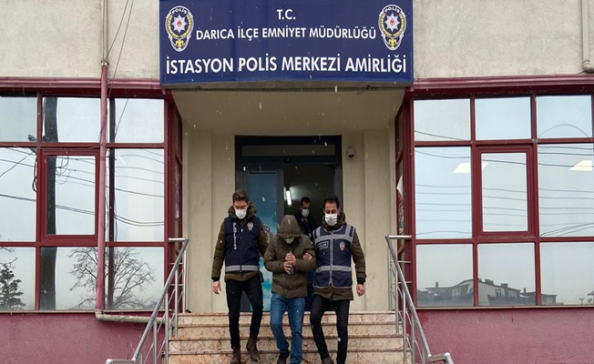 Darıca'da hırsızlık yapan zanlı tutuklandı!