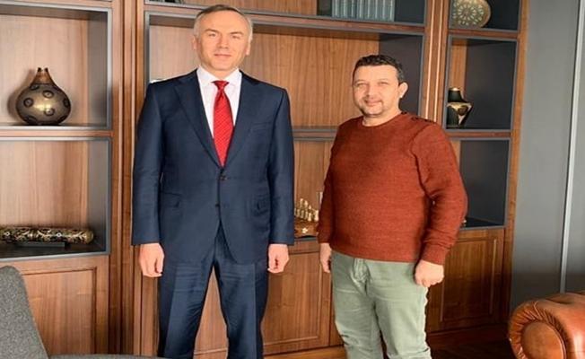 Gencer, Genel Başkan Av.Ahmet Yılmaz'ı ziyaret etti