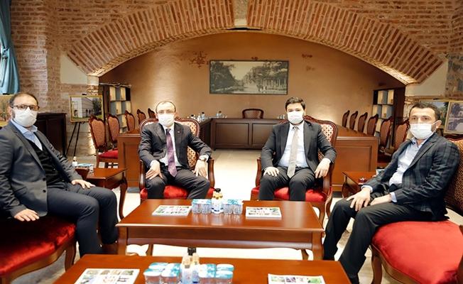 İstanbul Milletvekili Muş'tan Başkan Öztekin'e ziyaret