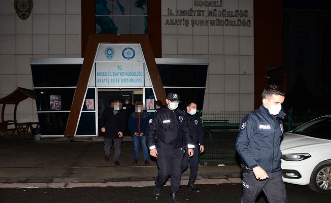 Kocaeli'de Şafak Operasyonu: 24 Gözaltı!