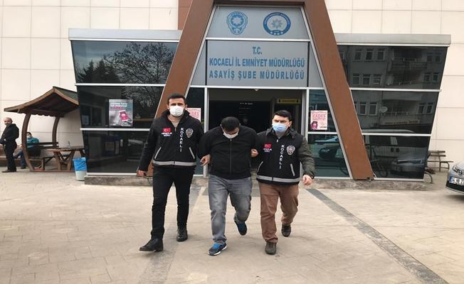 Şantiyelerden kablo çalan zanlı tutuklandı!