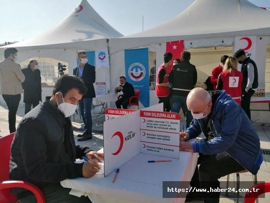 Bağcılar'da İki günde 500 ünite kan bağışığı