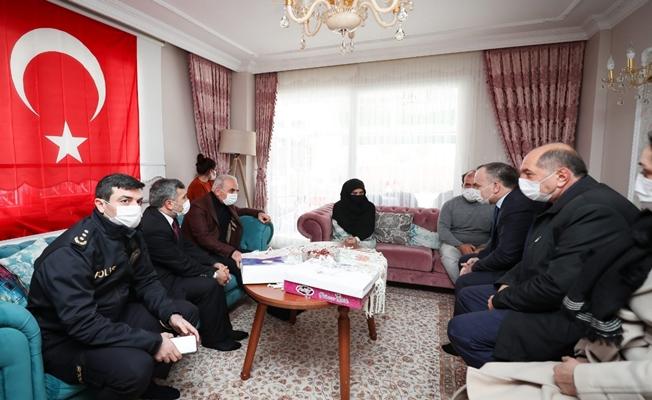 Başkan Yıldırım'dan Gara şehidinin ailesine ziyaret
