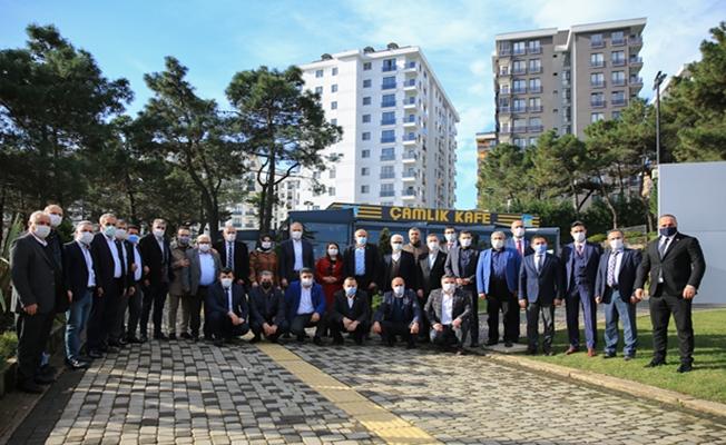 Çekmeköy'de Poyraz Muhtarları Dİnledi