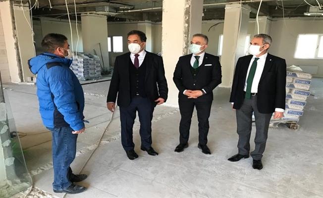 Gebze Tapu binası yenileniyor