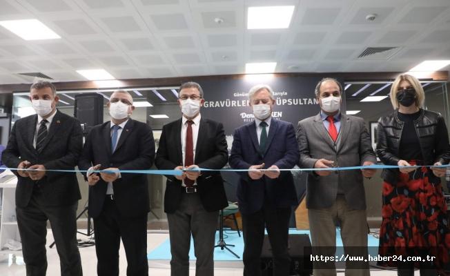 'Gravürlerde Eyüpsultan' sergisi açıldı