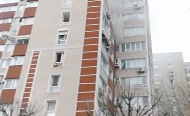 İstanbul'da bir binada patlama meydana geldi!