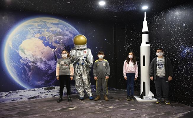 Tuzlalı miniklerden Türk uzay yolcularına isim önerisi
