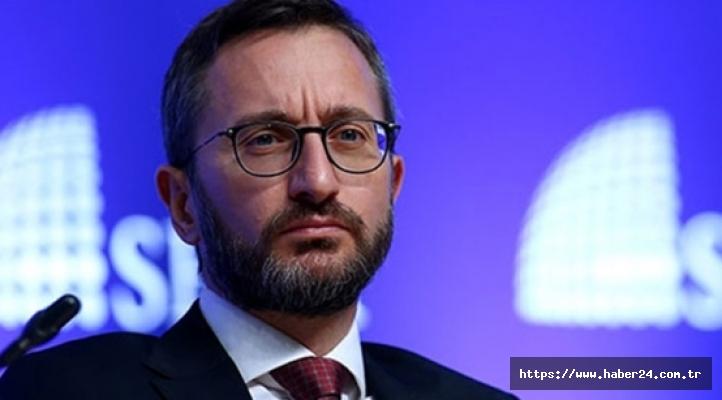 Fahrettin Altun'dan, CHP'li Özel'e sert tepki