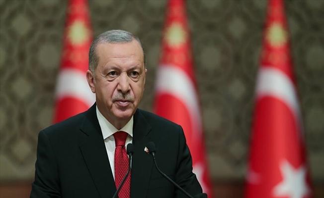 Erdoğan'dan Çanakkale Zaferi mesajı