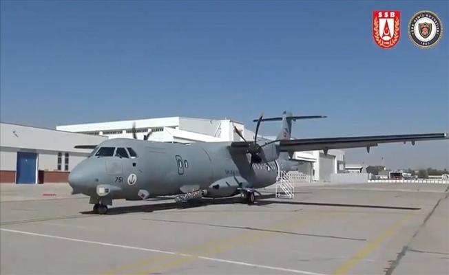 İkinci P-72 Deniz Karakol Uçağı Deniz Kuvvetleri Komutanlığına teslim edildi