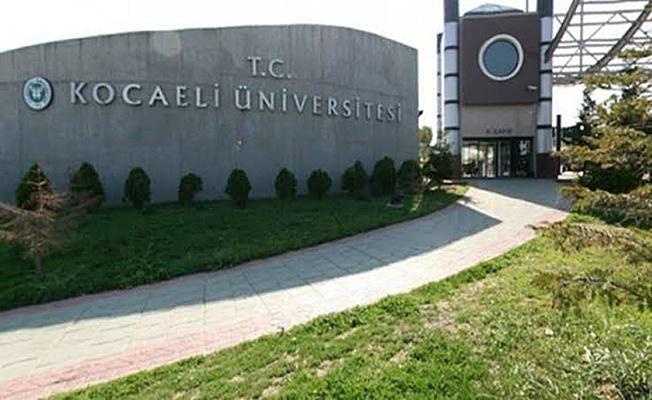 Kocaeli üniversitesi lise mezunu sözleşmeli personel alımı yapacak!