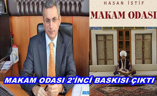 Nüfus Müdürü Hasan İstif'in 2 inci Kitabı Çıktı