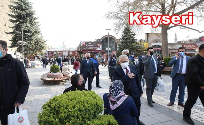 Kayseri'de Vali ile Başkandan Saha Denetlemesi