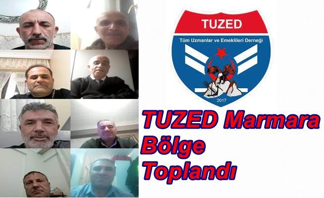 TUZED Marmara Bölge Toplandı