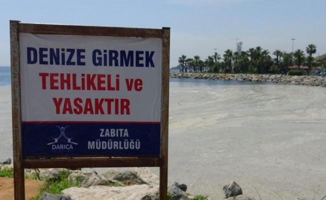 İlçede denize girmek yasaklandı!