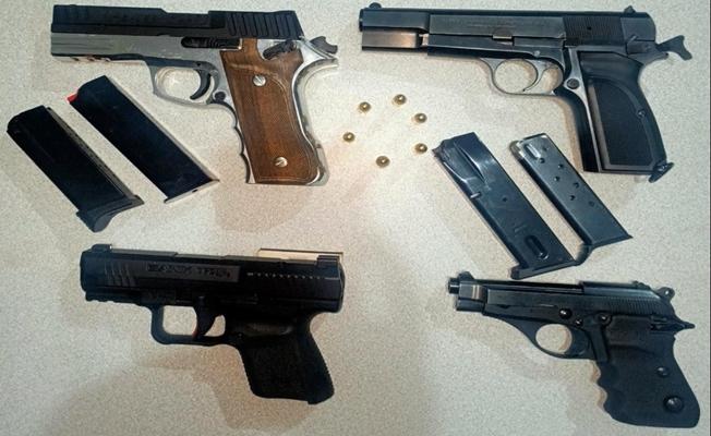Kocaeli'de silah kaçakçılığı operasyonu; 22 gözaltı!