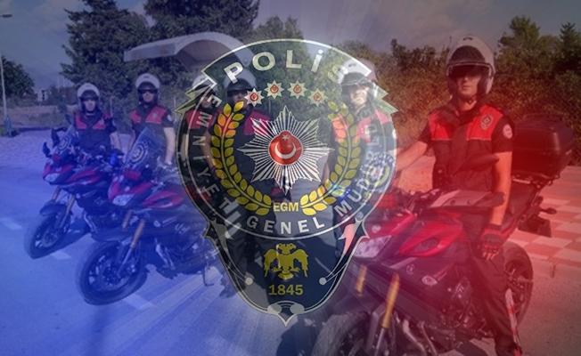 Kocaeli'ye 186 polis geldi