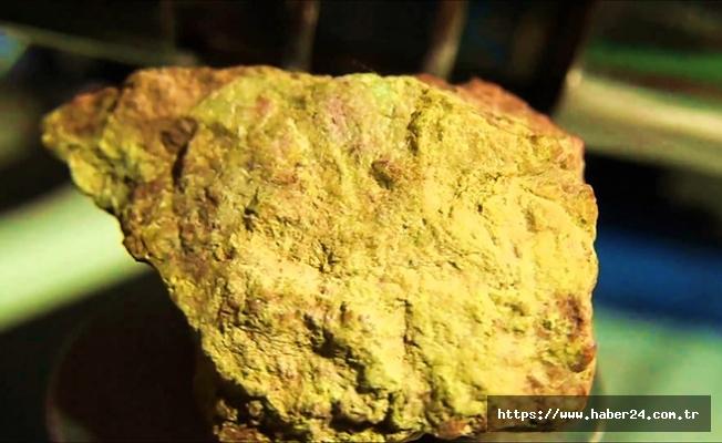 Tonlarca altın ve uranyum bulundu!
